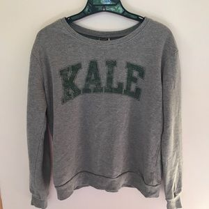 Grey Kale Pullover